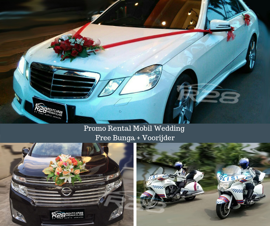 rental mobil wedding